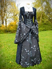 Callalily-012 medieval style dress