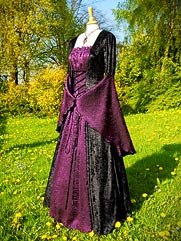 Callalily-013 medieval style dress