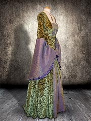 Callalily-015 medieval style gown