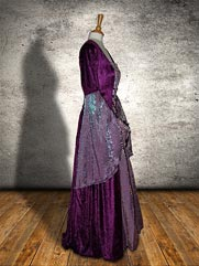 Callalily-016 medieval style dress