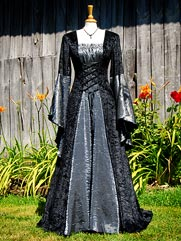 Callalily-019 medieval style dress