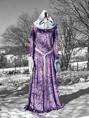 Calendine-012 medieval style dress