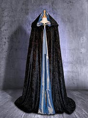 Cloak-012 medieval style dress