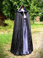 Cloak-015 medieval style dress
