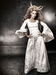 Angelica-020 medieval style gown