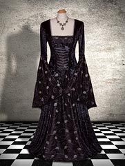 Waterlily-015 Gothic gown