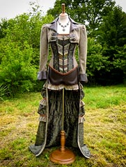Fern-012 steampunk style clothing
