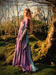 Rose-012 medieval style gown