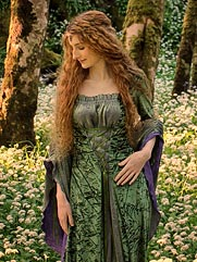 Callalily medieval dress