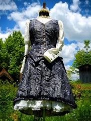 Lantana-012 UK Faery steampunk dress