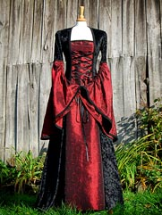 Lily-015a medieval gown