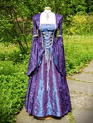 Lily-016 medieval style gown