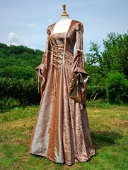Lily-019 medieval style gown