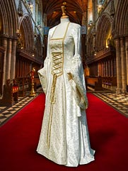 Lily-020 medieval style gown