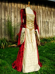 Lily medieval dress