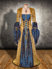 Willow-021 medieval style dress