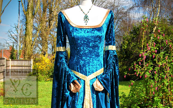Angelica-013 medieval style dress