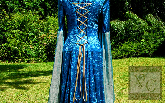 Callalily-014 medieval style dress