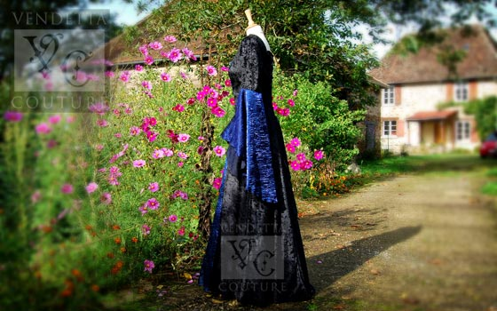 Callalily-017 medieval style dress