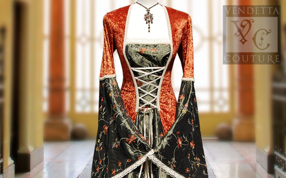 Lily-013 Medieval Style Dress