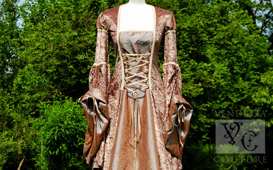Lily-019 medieval style dress