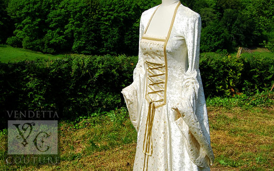 Lily-020 medieval style dress