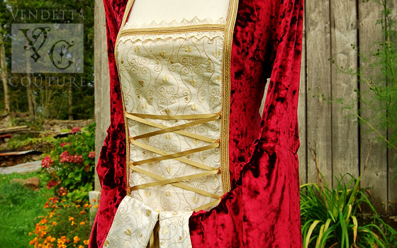 Lily-021 medieval style dress