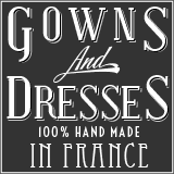 Gowns and dresses made for you in france